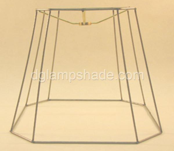 Frames custom shades lamp shadeschina factorydongguan jinli square cut corners frame greentooth Gallery